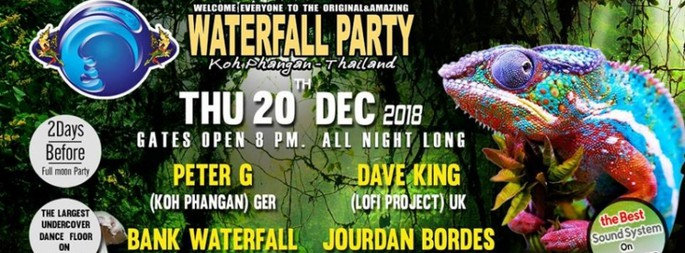 Waterfall Party