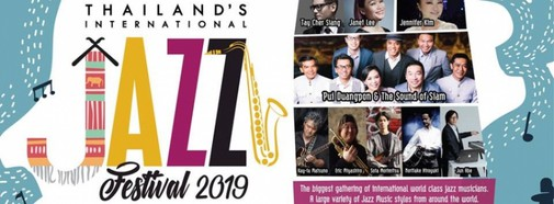 Thailand's International Jazz Festival 2019